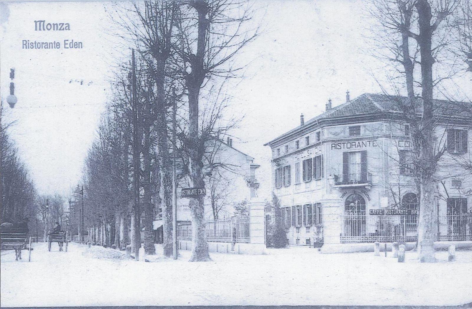 immagine d'epoca dell'hotel