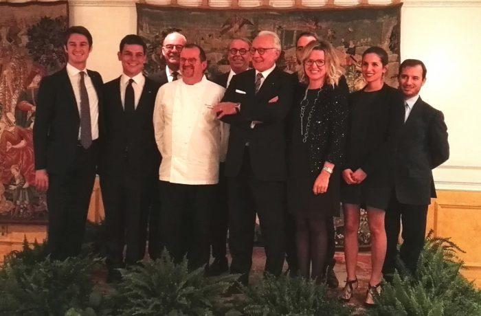 Alcuni dei produttori e membri italiani della Chateaux & Hotels Collection
