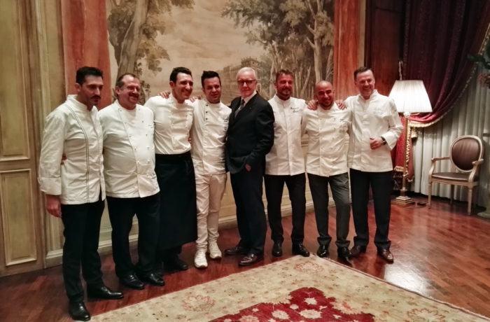 Alcuni degli chef italiani che fanno parte dei Tables de la Collection