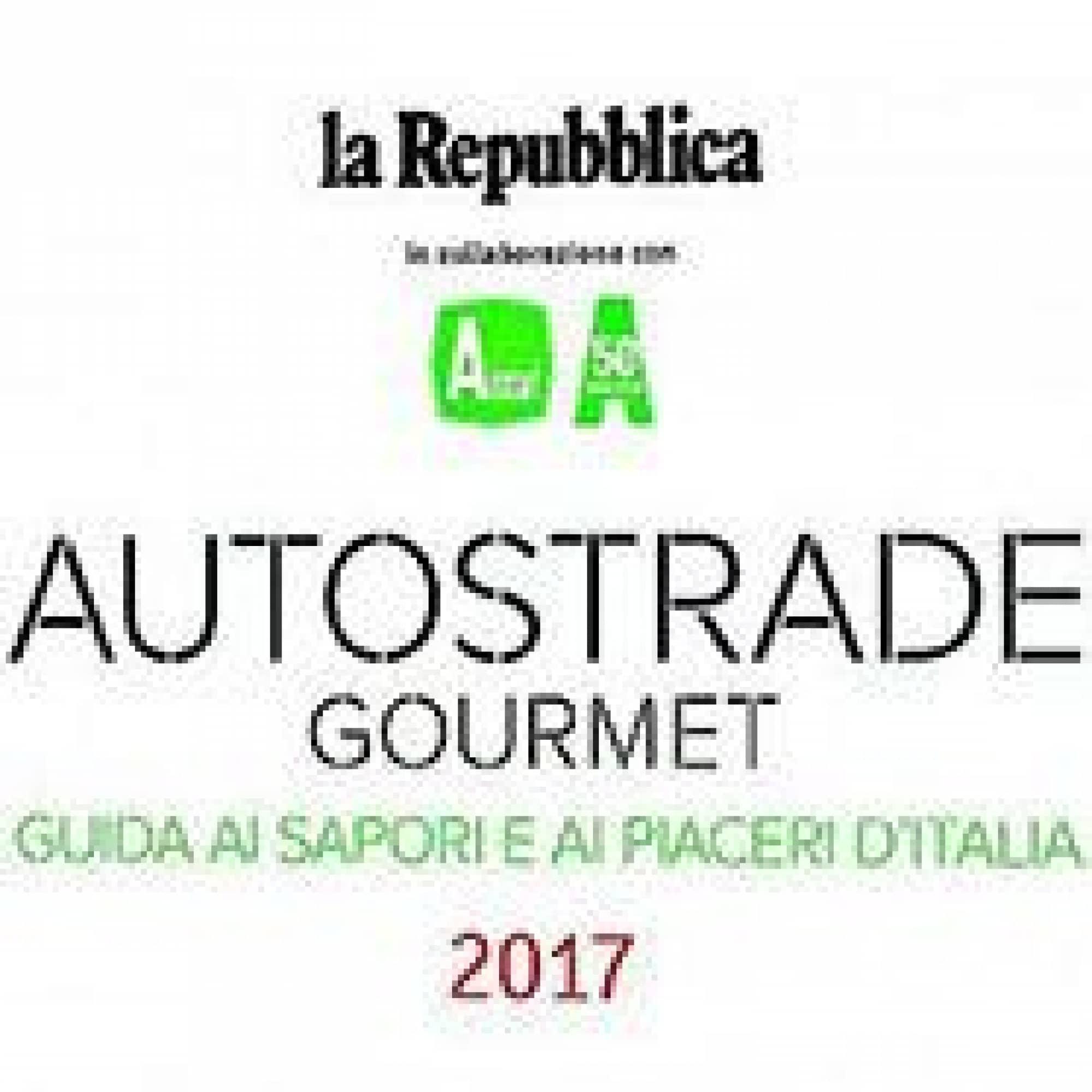 La Repubblica Autostrade Gourmet 2017