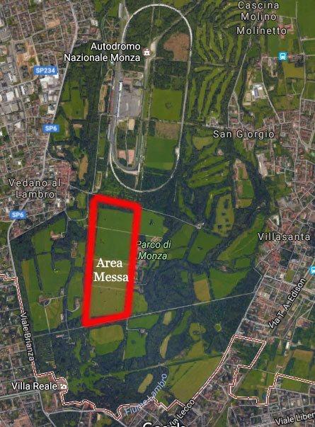 La messa del Papa a Monza si terrà nella zona dell'ex ippodromo