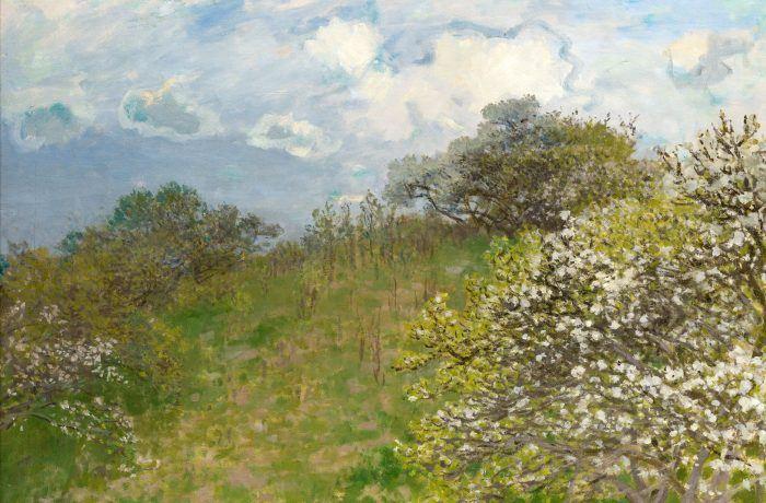 Il quadro di Monet in esposizione alla Villa Reale di Monza