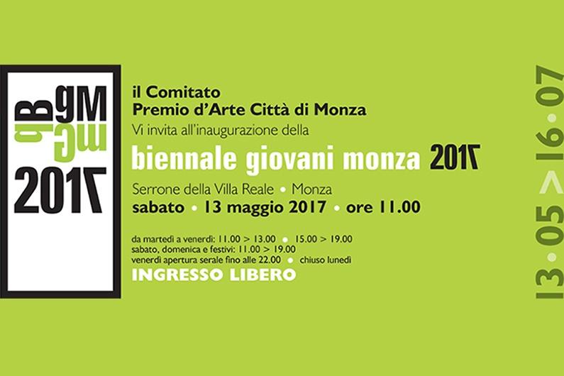 Biennale Giovani Monza 2017, appuntamento con l'arte.