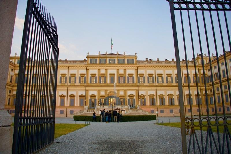 villa reale monza visite