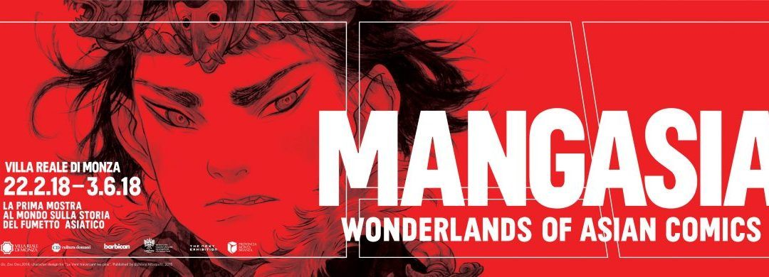 Mangasia: Wonderlands of Asian Comics. Il fumetto sbarca a Monza.