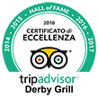 Hall of Fame Tripadvisor Derby Grill 2018