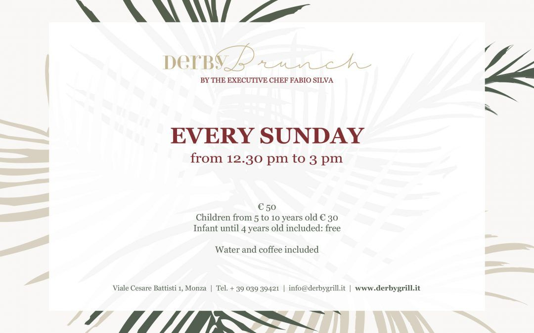 Brunch in Monza, at the Derby Grill by chef Fabio Silva