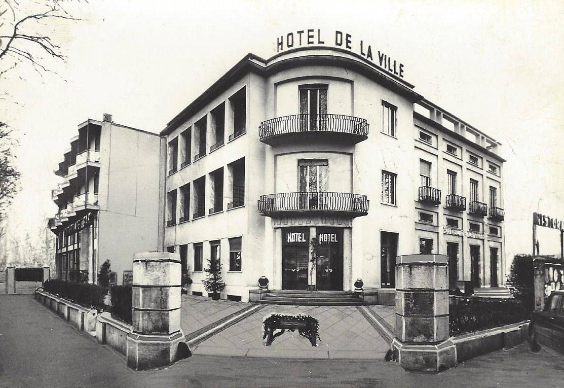 Hotel de la Ville anni 60