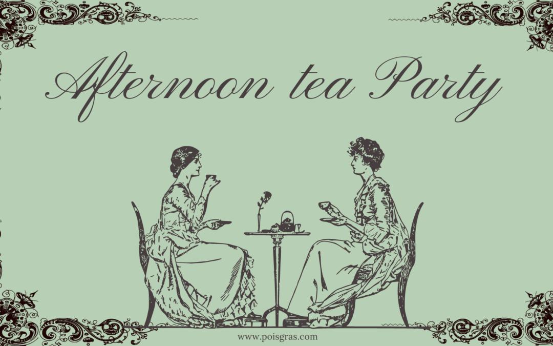 Il rito dell'Afternoon Tea a Monza con Pois Gras